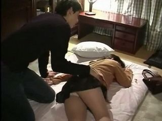 Japanese Mother Fucked Hard In Her Sleep By Horny Stepson
