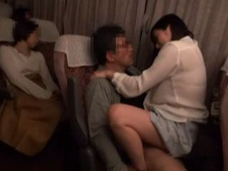 After Make Sure That Every Passengers In The Bus Are Sleeping Horny Man Took Advantage Over Sexy Girl