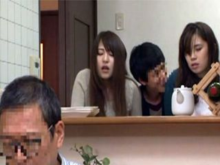 Naive Sisters Are Afraid To Tell Their Father That Their Stepbrother Abusing Them