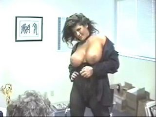 Big Tits Beauty Is Securing Her Job In The Storage Room With Boss