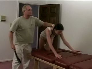 Dirty Old Stepfather Always Punishing His Poor Stepdaugter Likewise When She Come Late Home