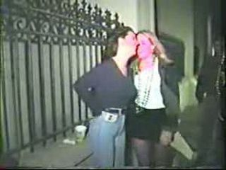 Girls Suck Cock After Party On The Street