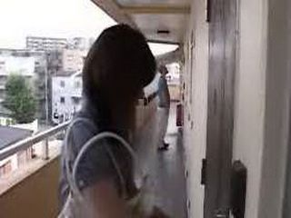 Japanese Maniac Waited Mom To Unlock The Door Than Attack