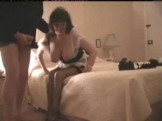 Busty Amateur Mature Housewife Maid Fucked