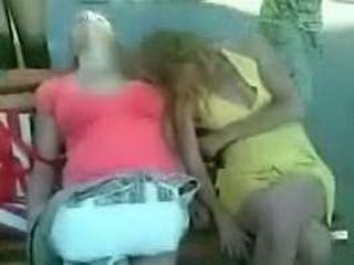 Totally Wasted Girls Humiliated In Public While Sleeping In Park
