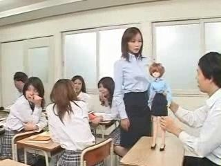 Student Uses Voodoo Doll Power To Fuck MILF Teacher In Classroom