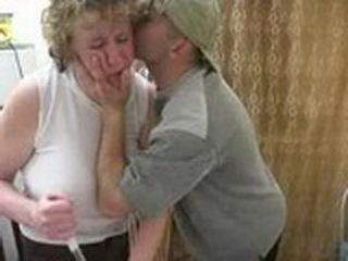 Russian Boy Kissed Neighbors Granny And Show Began