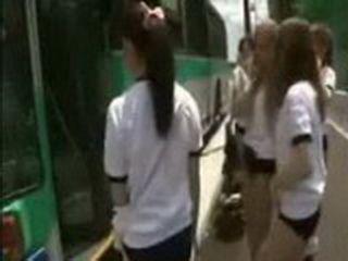 The Bus Full Of Japanese Girls Ready For Fucking