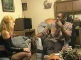 Blonde Hooker Visited Her Black Customer Again