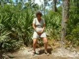 Mature Woman Gone Wild In Woods