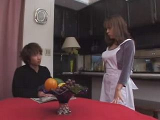 Japanese Boy Finally Got Chance To Fuck Uncles Wife
