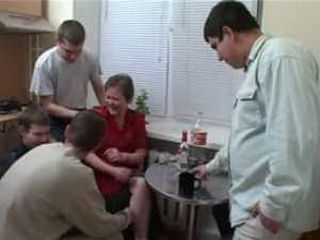Russian Mom Made a Perfect Party for Teen Boys from the Hood