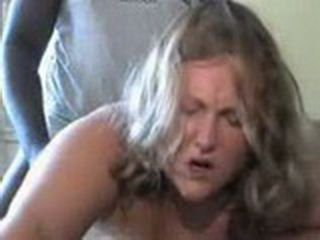 Fat Mom Fucks Two Black Dudes End Up Cumming On Her Big Boobs