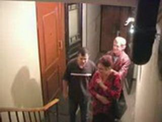 Two Friends Trashed Mature Hooker On The Stairs