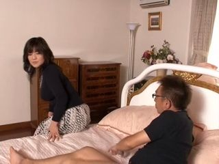 Mature Wife Awakes Guy For Sex