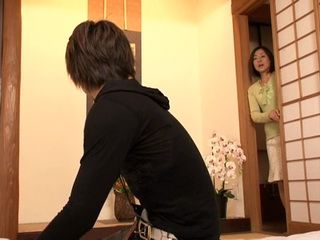 Mom Catches Boy Wanking On her Panties