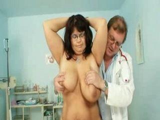 Mature Daniela Has Her Huge Tits Checked At Gyno