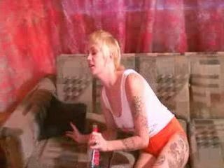 Totally Wasted Tattoo Blonde Teen Fucked By Her Friend After Party