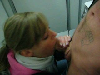 Blonde Teen Deepthroat Huge Cock Then Throat Fucked