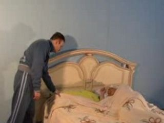 Younger Man Awaking Blonde Mature Mom To Have Some Fun With Her