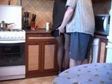 Sons Best Friend Started Mom In Black In Kitchen After Her Husbands Funeral