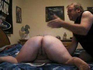 Fat Mature Woman Receive Deep Anal Licking From Her Dedicated Husband