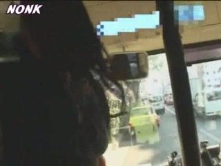 Japanese Grope and Fucking In Bus
