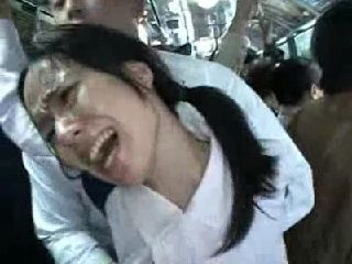Girl Gets  Fucked In Bus Full Of People