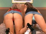 Two Hot Butts Are Ready For Fuck