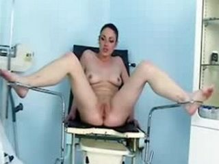 Student Girl Getting Her Pussy Gyno Examined With Speculum