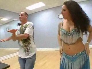 Big Booty Belly Dancer And Her Student