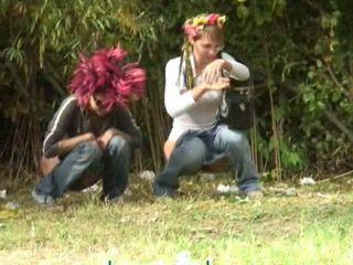 Teens Taped Taking Leak By Voyeur
