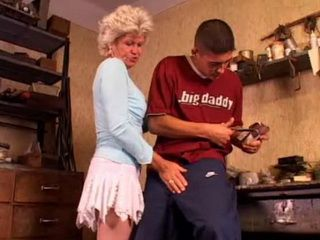 Granny Take Advantage Of Young Student