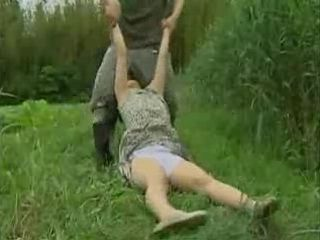 Unconscious Village Woman Gets  Fucked In The Field