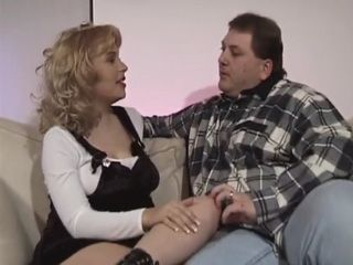 Horny Pregnant Woman Fucks Two Fat Guys