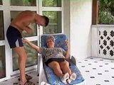 Slutty Granny Fucks With Her Son In Law