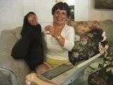 Stacy gets mean with a big dildo (www.OlderWomenVideos.com)