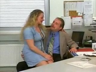 Boss Fucks His Busty Secretary after Work