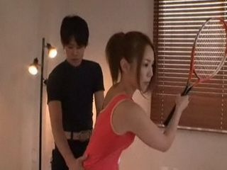 Tennis Japanese Teen Gangbanged on the Court
