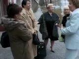 German MILF Blows a Guy on a Public Bus