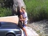 Young Couple Cant Wait to Fuck on Vacation
