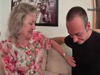 Curious Granny Fucked By Younger Guy