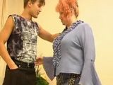 Redhead BBW Mature Likes to Fuck Young Men