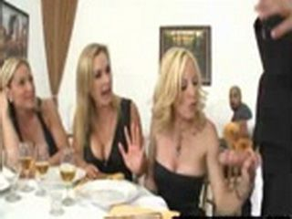 Blonde Milfs Want Cock at Restaurant