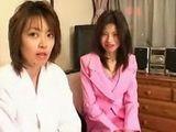Horny Japanese Lesbians Make Love