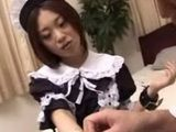 Submissive Japanese Maids Fucked in Hotel Room
