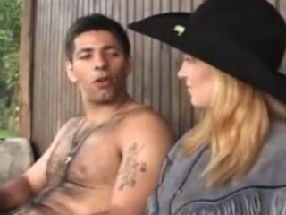 Spanish Bandit Fucks Dirty Blonde White Girli