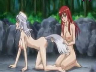 Anime Lesbos Fingering Their Cunts