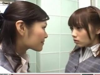 Lesbian Japanese Teens Experimenting Sexually