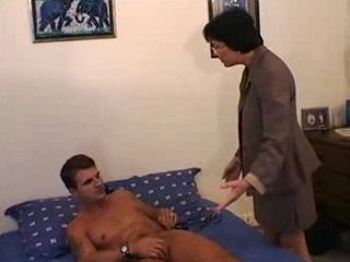 French Mom Helped Her Stepson To Satisfy Him Self